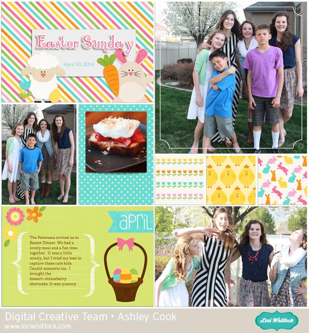 Easter Friends Elements