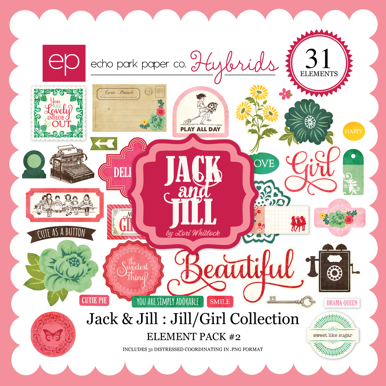 Jack & Jill: Jill/Girl Element Pack #2