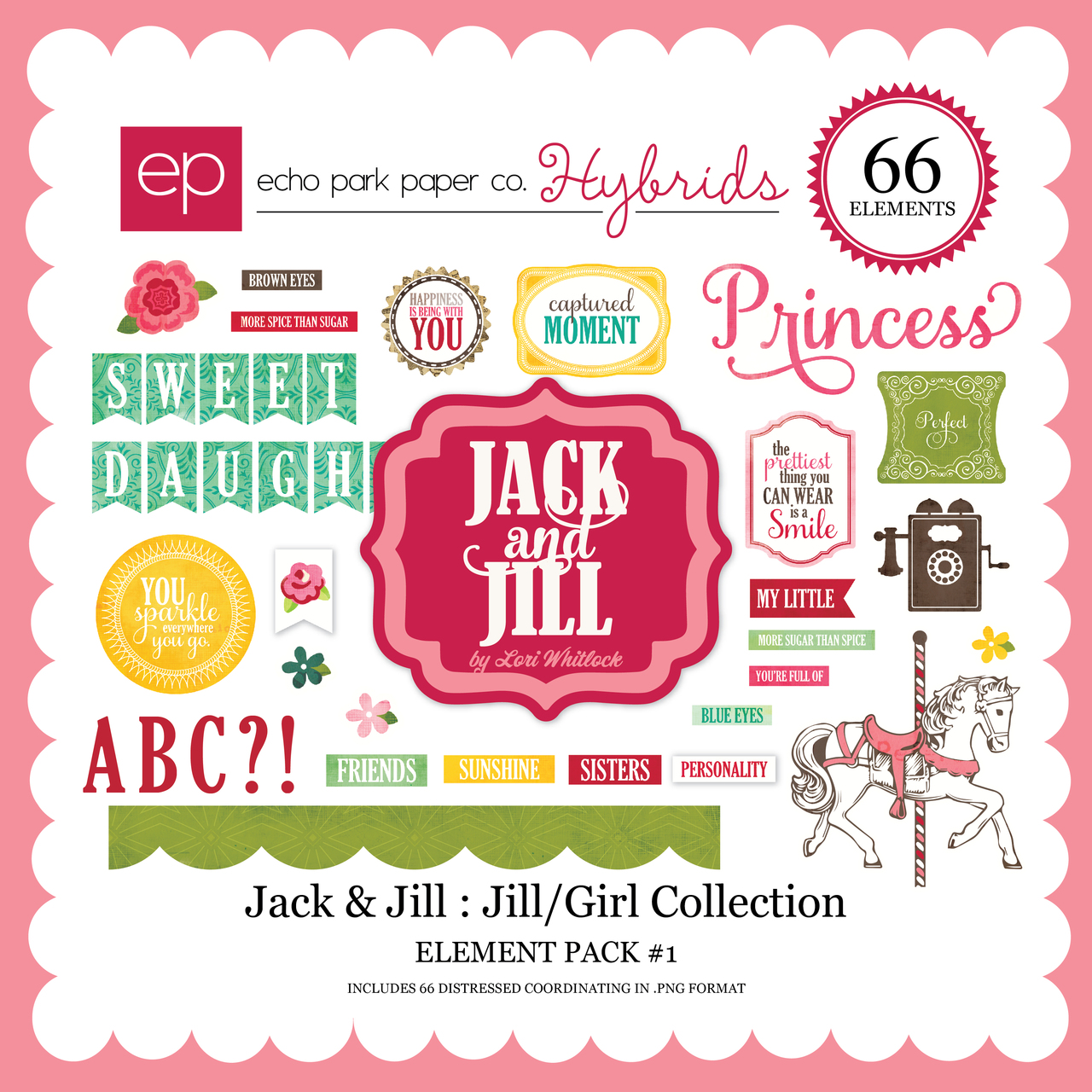 Jack & Jill: Jill/Girl Element Pack #1