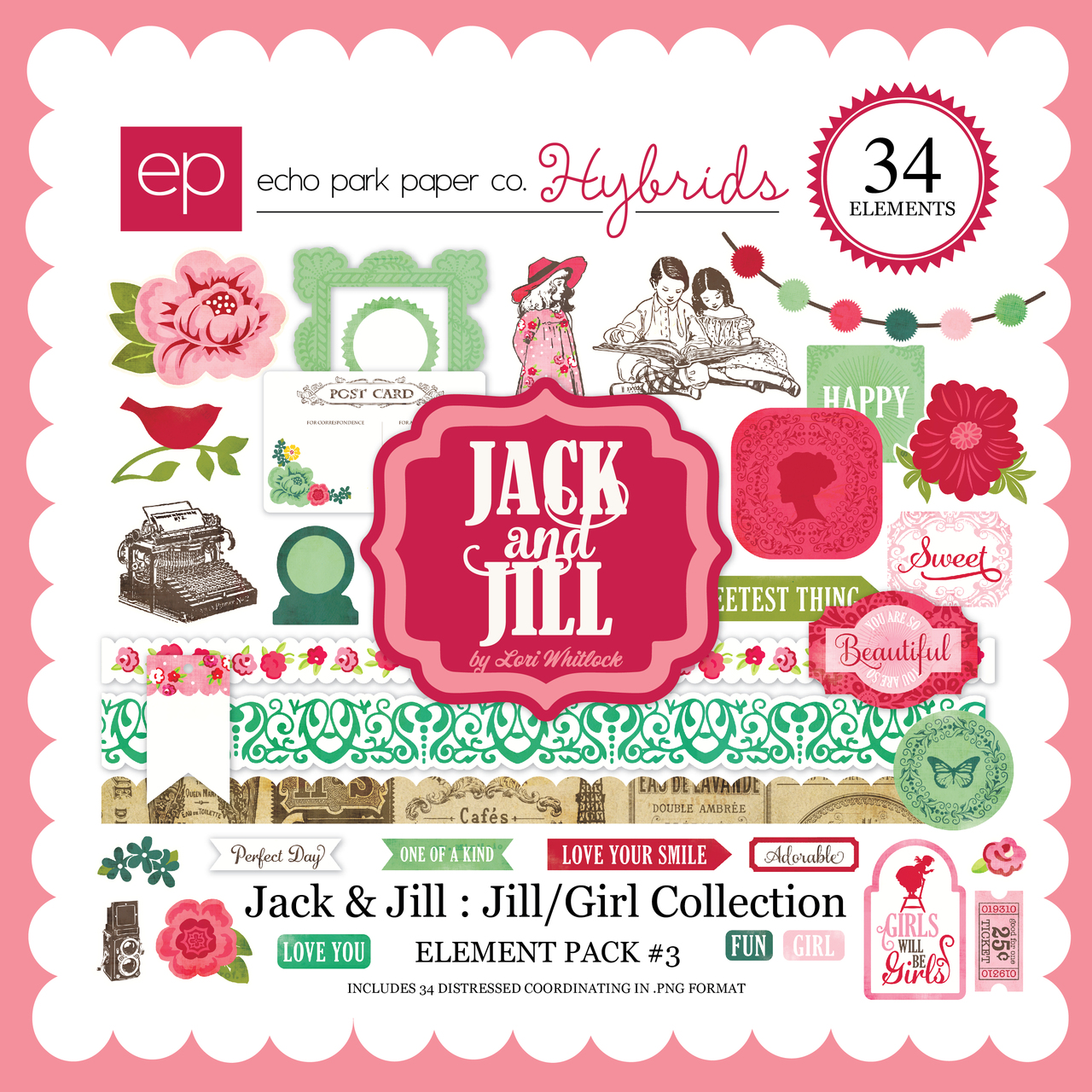 Jack & Jill: Jill/Girl Element Pack #3