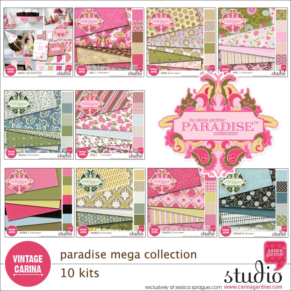 PARADISE Mega Collection