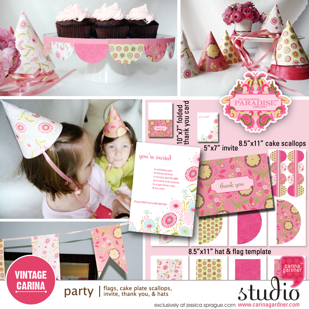 PARADISE Party Collection
