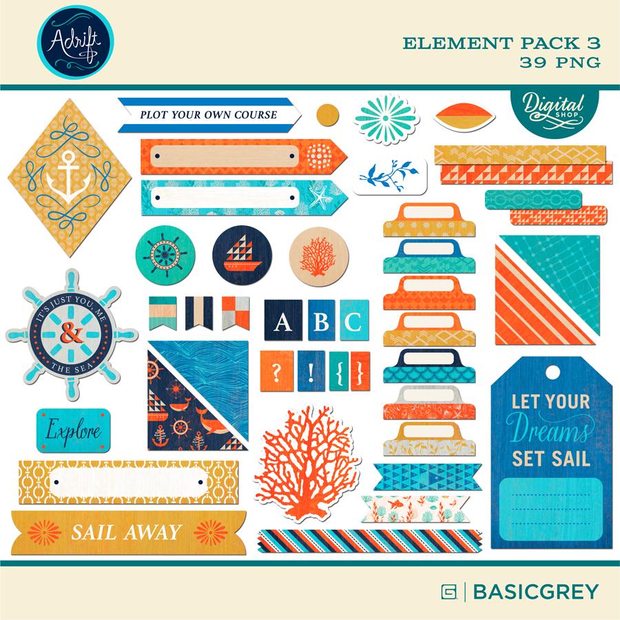 Adrift Element Pack 3