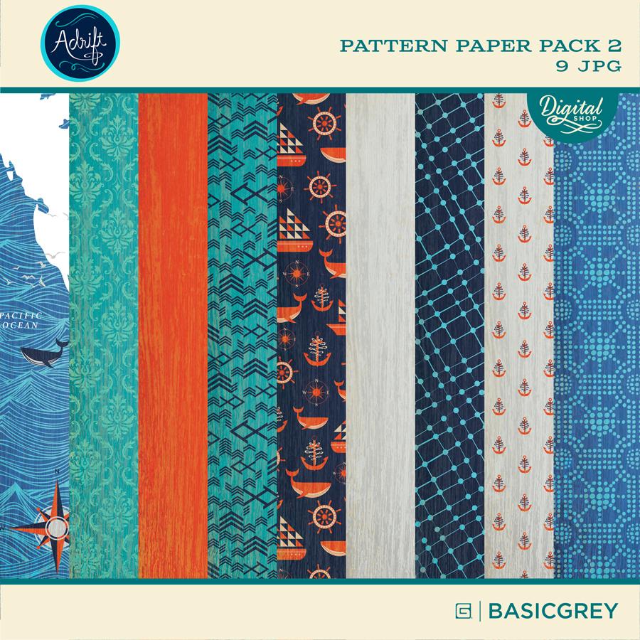 Adrift Paper Pack 2