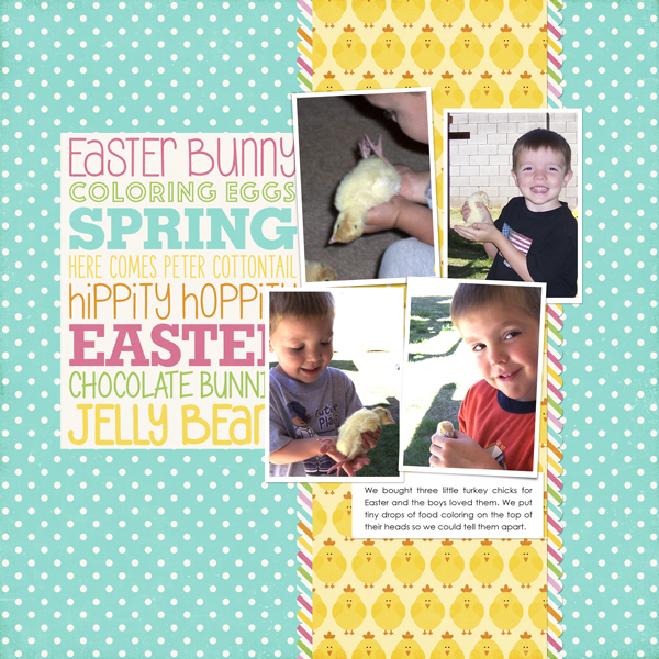 Created using Easter Friends Collection by Lori Whitlock