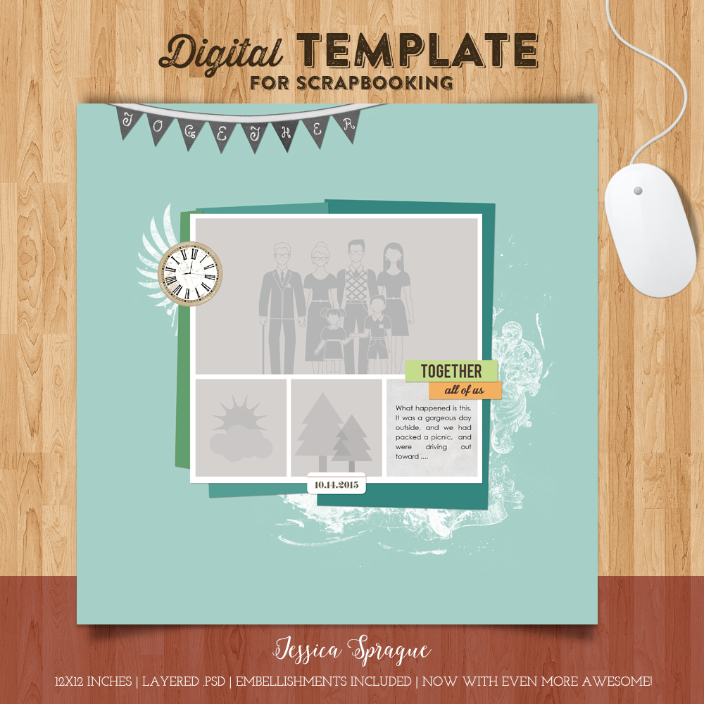 Jessica Sprague Together Template