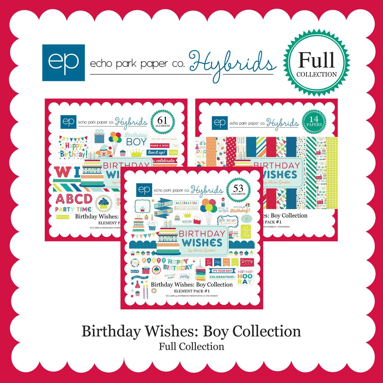 Birthday Wishes Boy Full Collection Snap Click Supply Co
