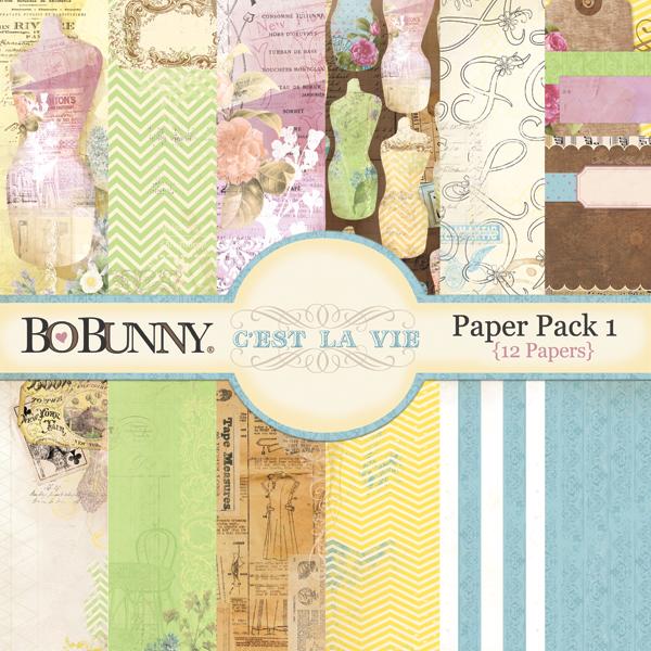 C'est la Vie Paper Pack 1