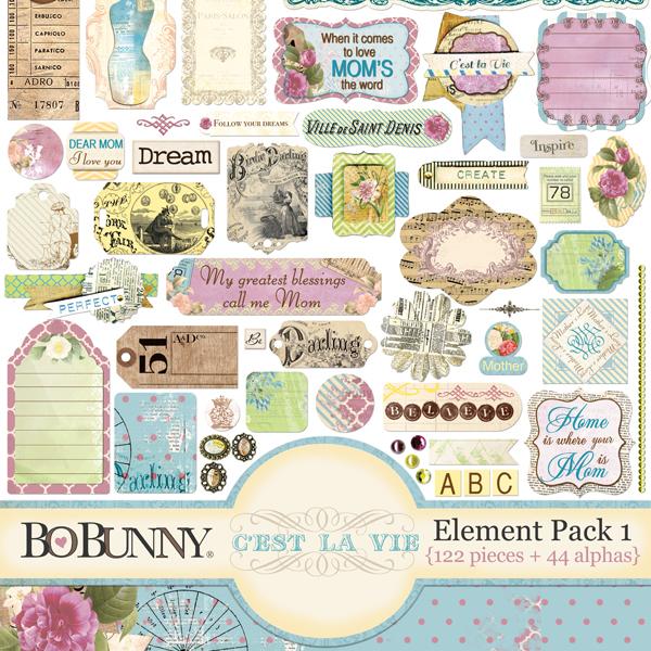 C'est la Vie Element Pack 1