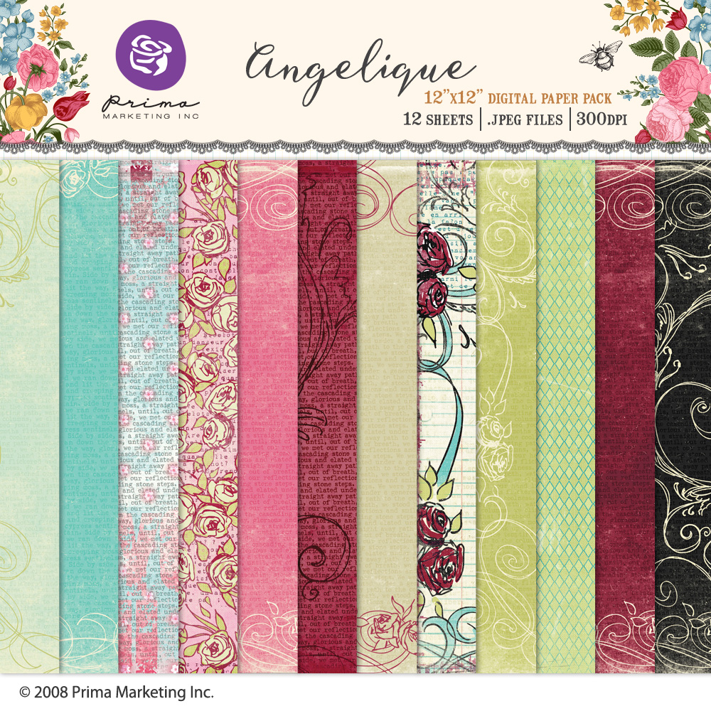 Angelique Paper Pack