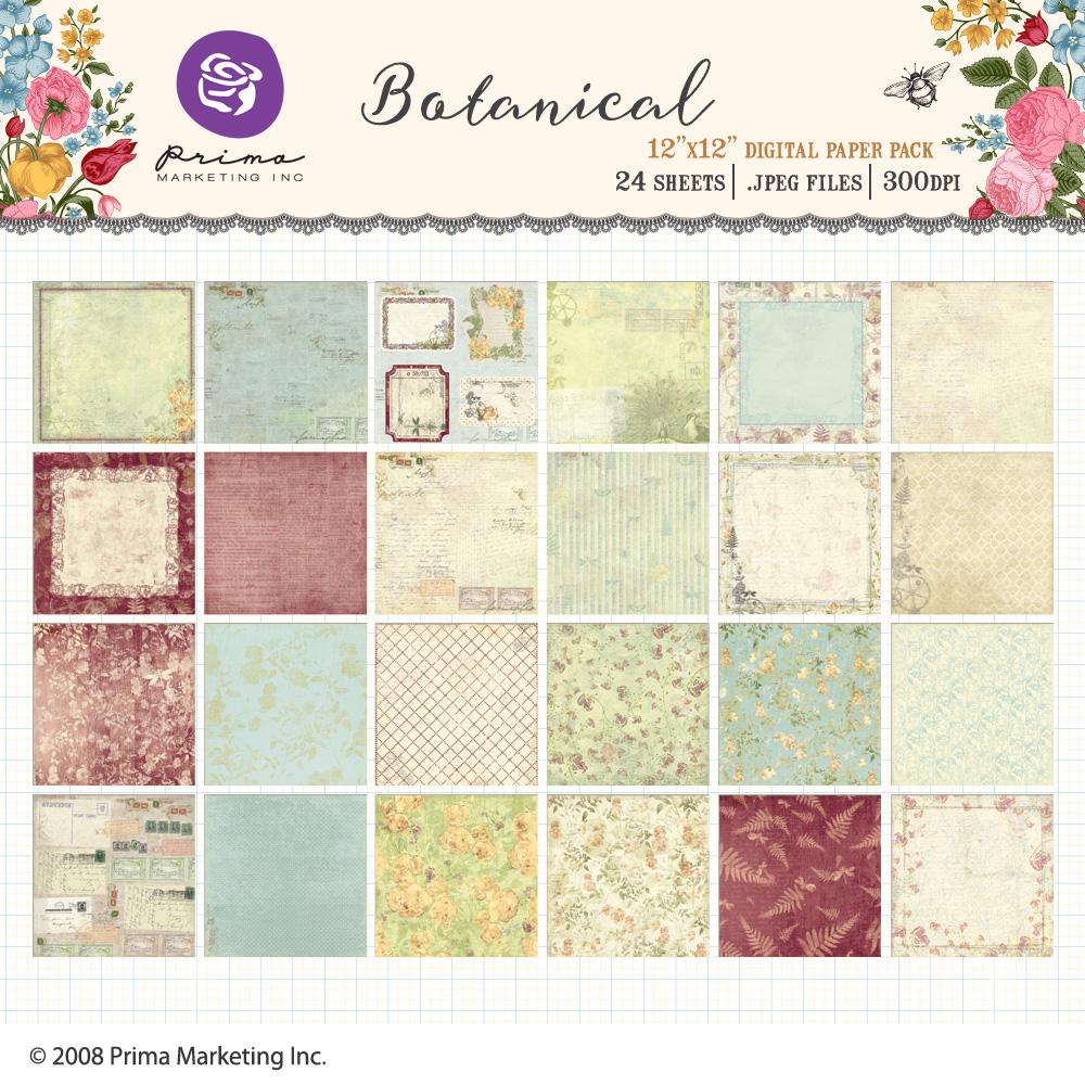 Botanical Paper Pack