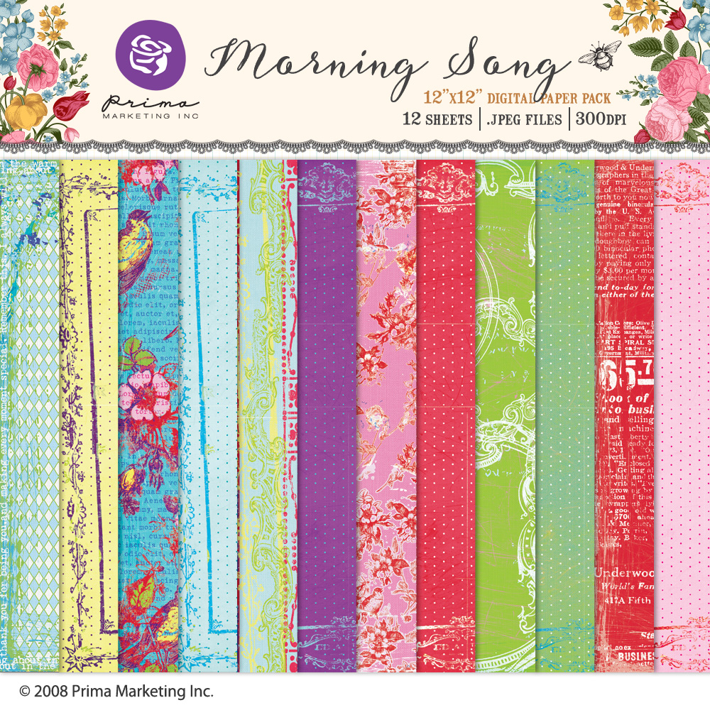Morning Song Paper Pack
