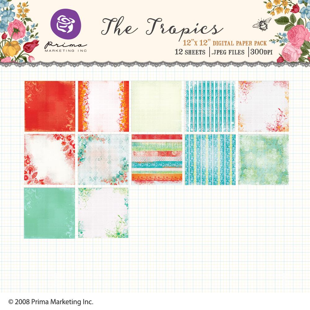 The Tropics Paper Pack