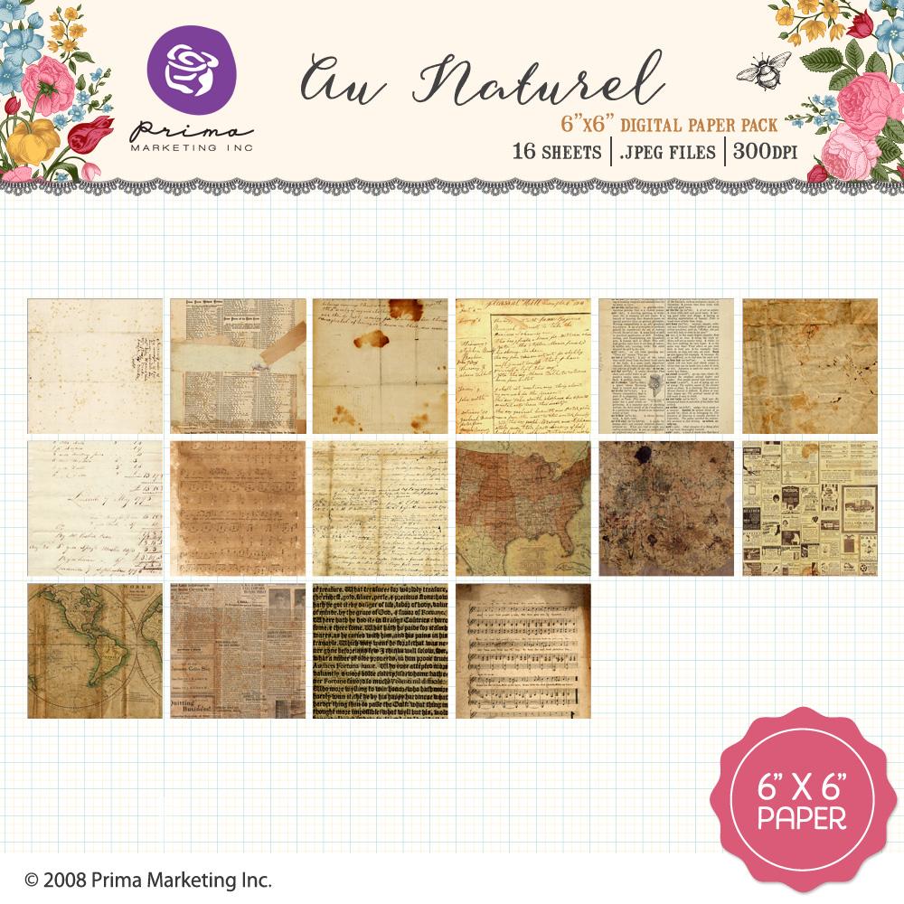 Au Naturel Paper Pack