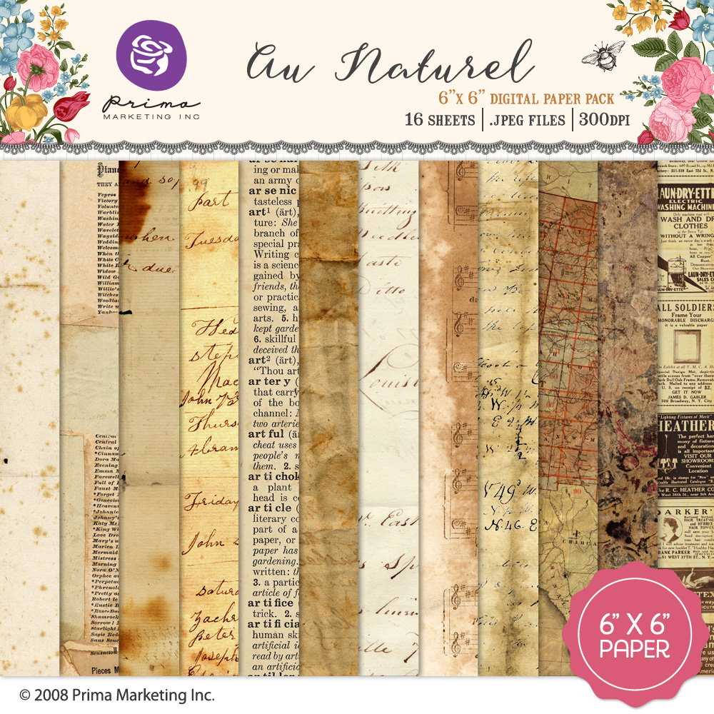 Au Naturel Paper Pack