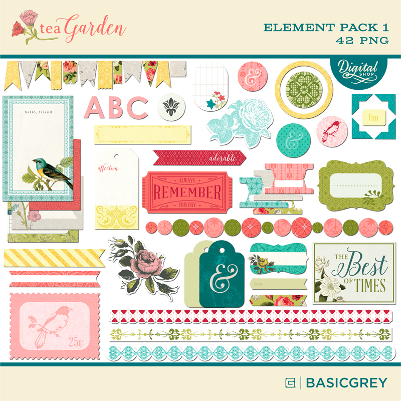 Tea Garden Element Pack 1
