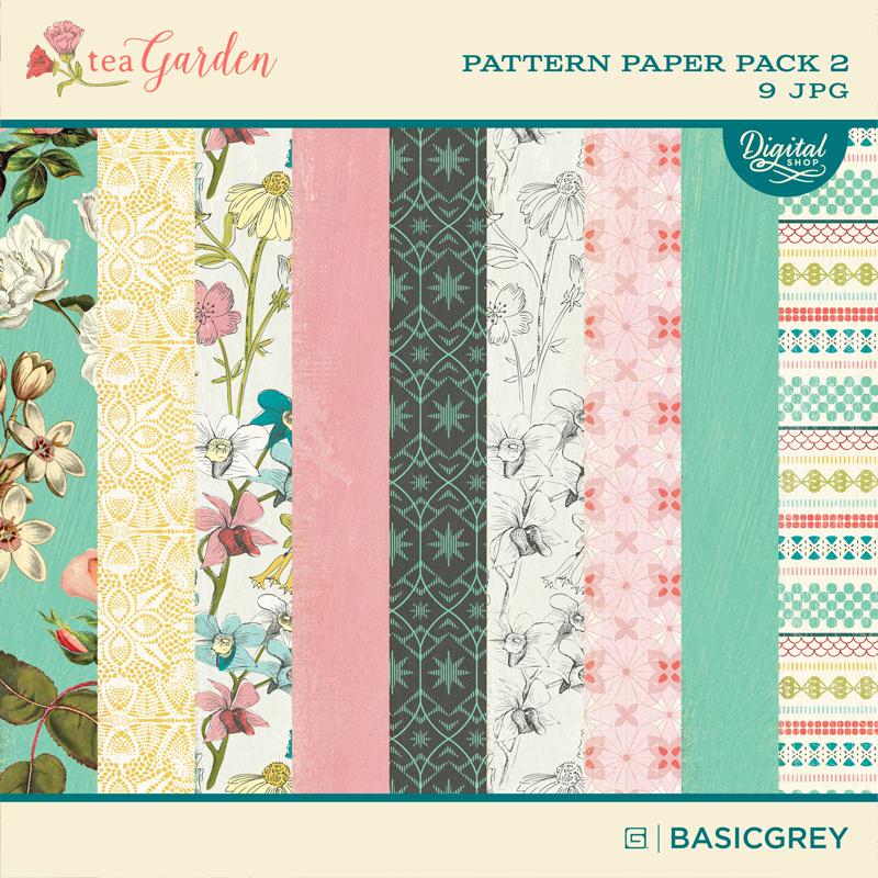 Tea Garden Paper Pack 2
