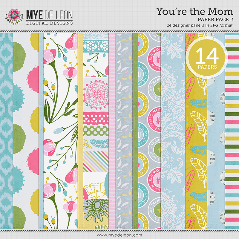 You're the Mom | Paper Pack 2