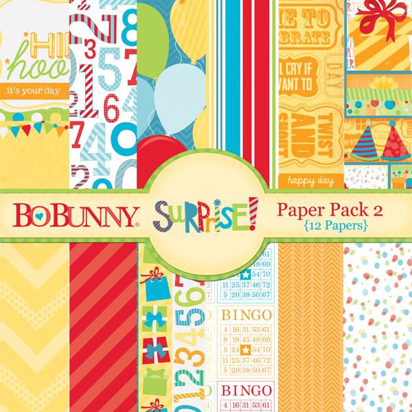 Surprise! Paper Pack 2