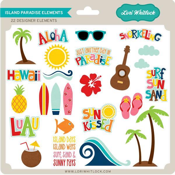 Island Paradise Elements
