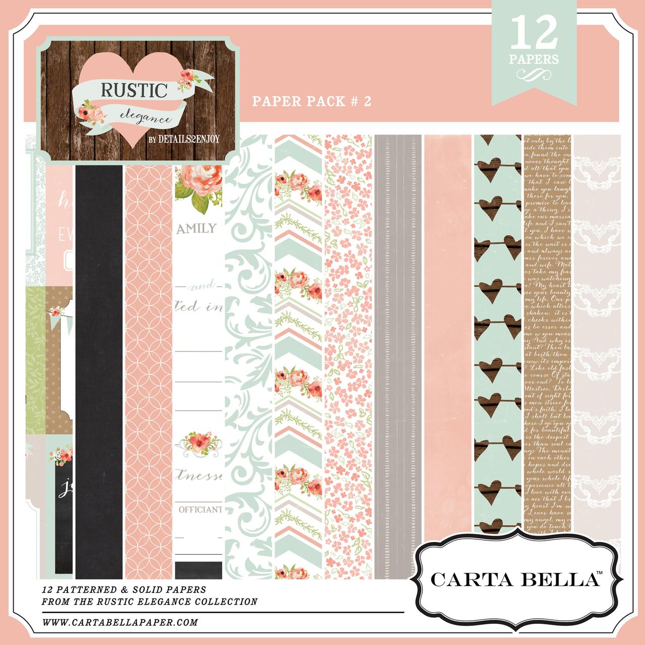 Rustic Elegance Paper Pack 2