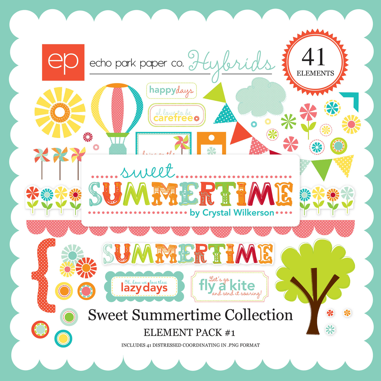 Sweet Summertime Element Pack #1