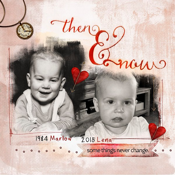 This awesome layout was created by Margje van Arnhem!