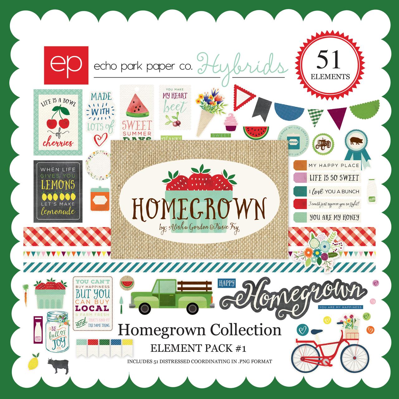 Homegrown Element Pack #1