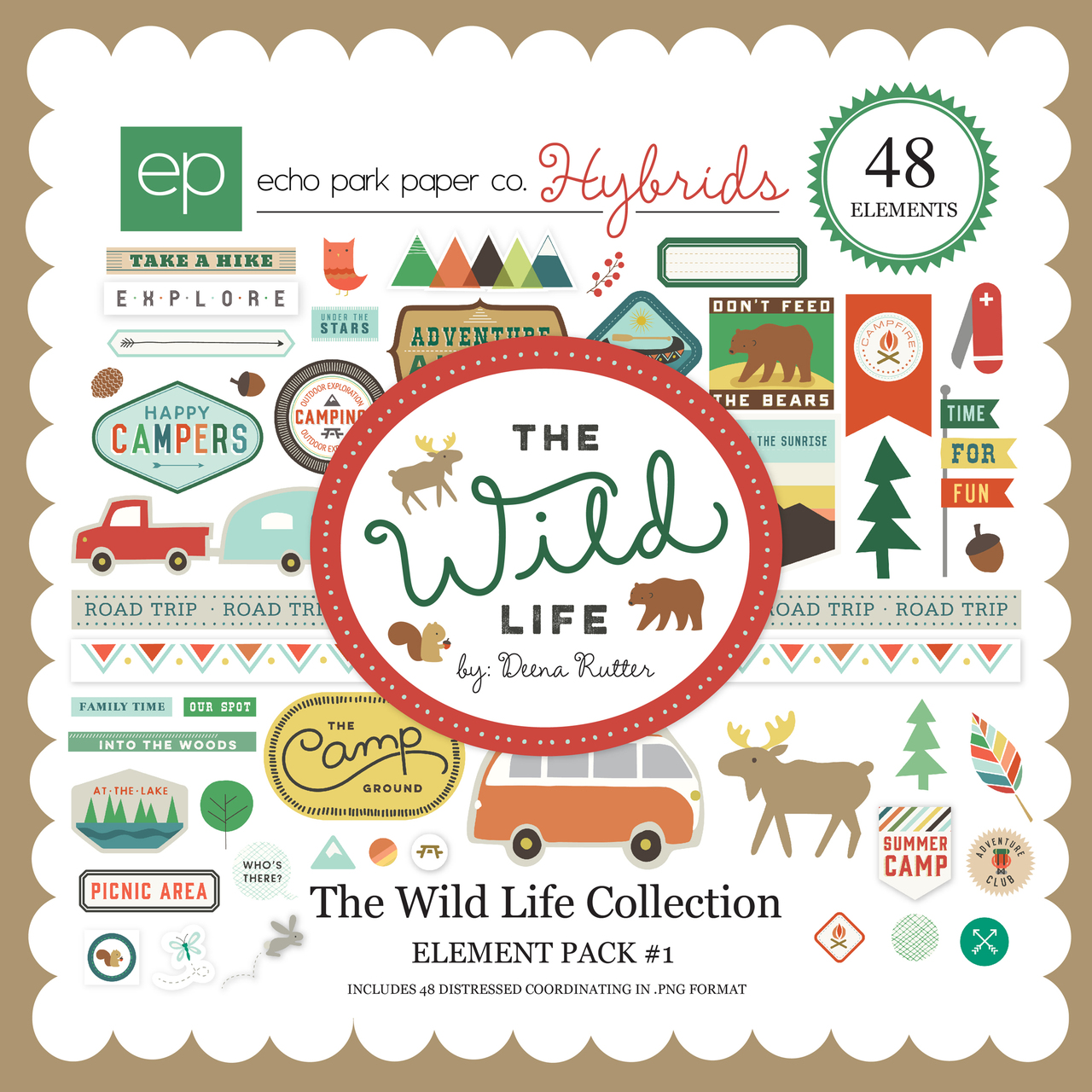 The Wild Life Element Pack #1