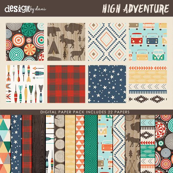 High Adventure Paper Pack