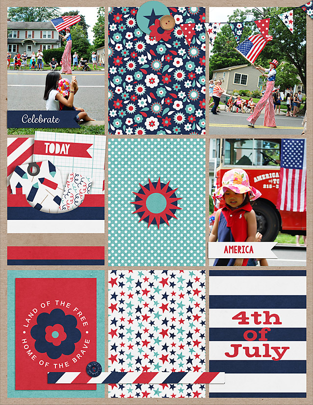 4th of July | Paper Pack