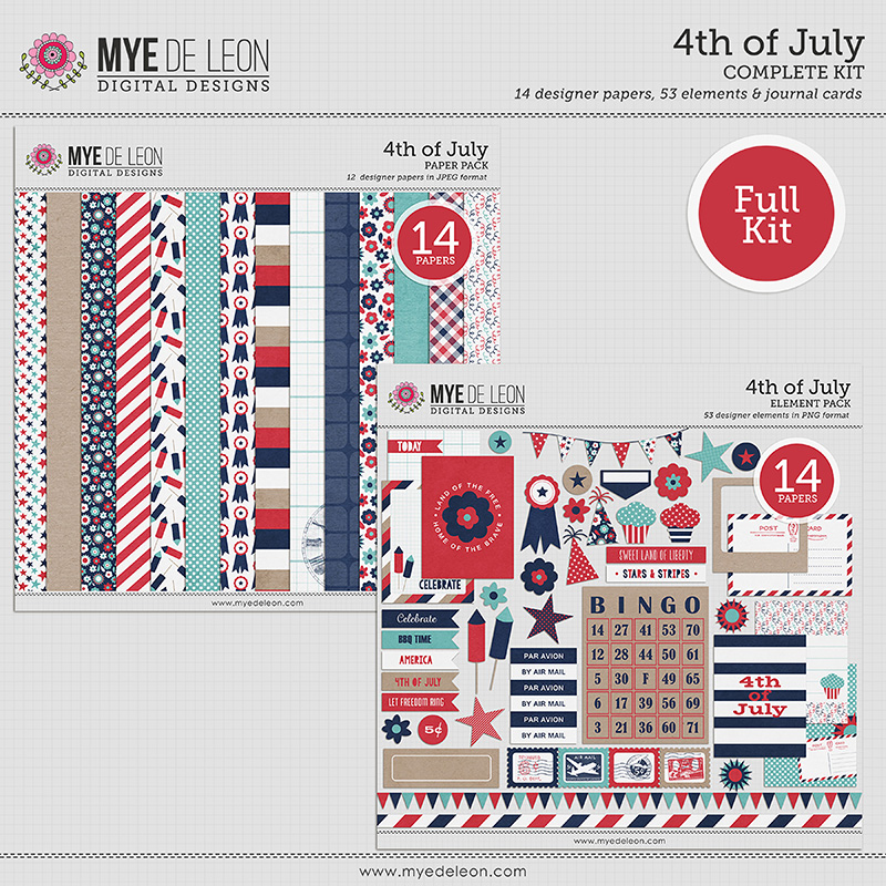 4th of July | Complete Kit