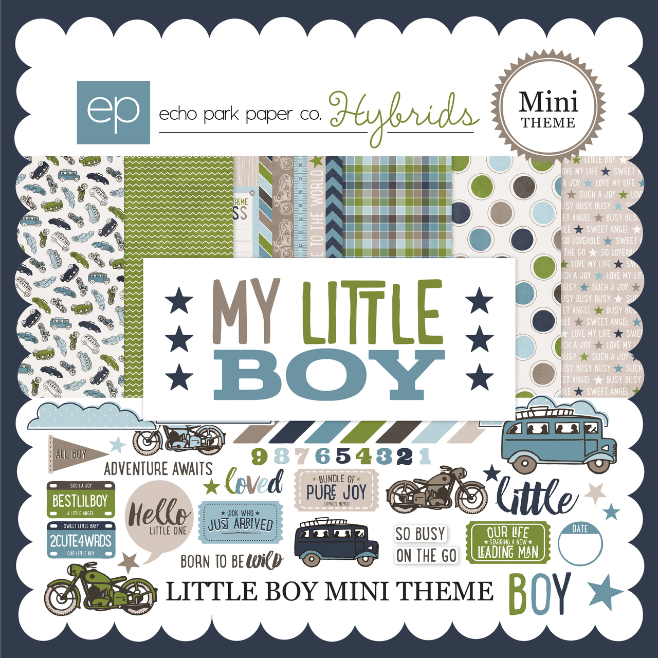 Little Boy Mini-Theme