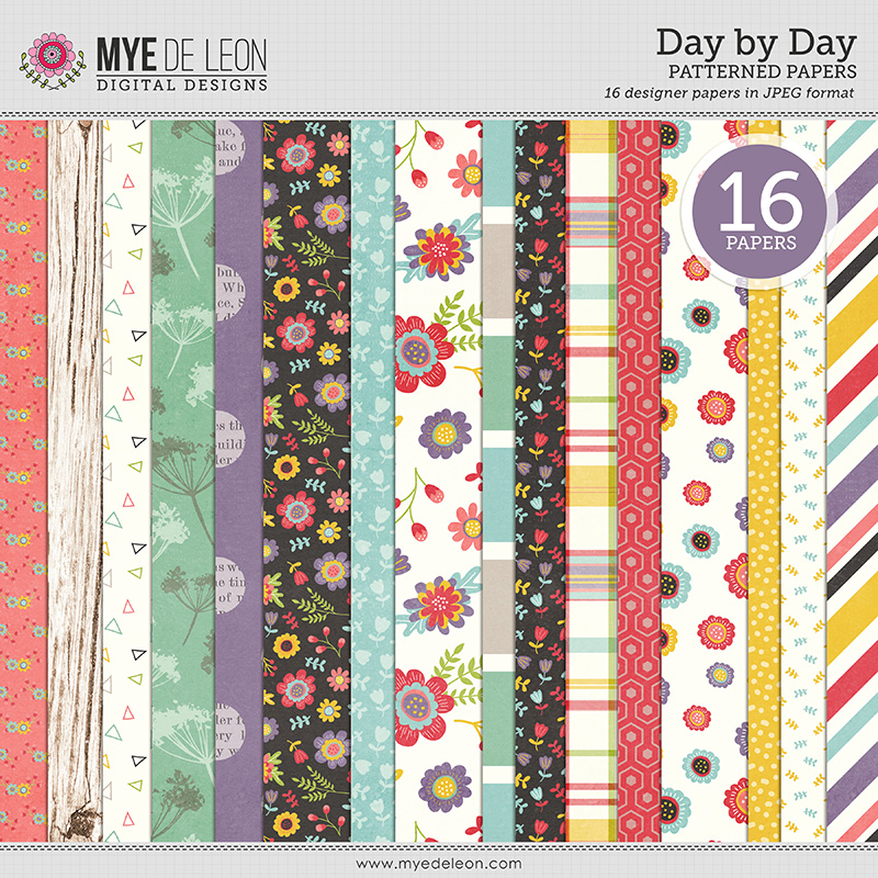 Day by Day | Patterned Papers