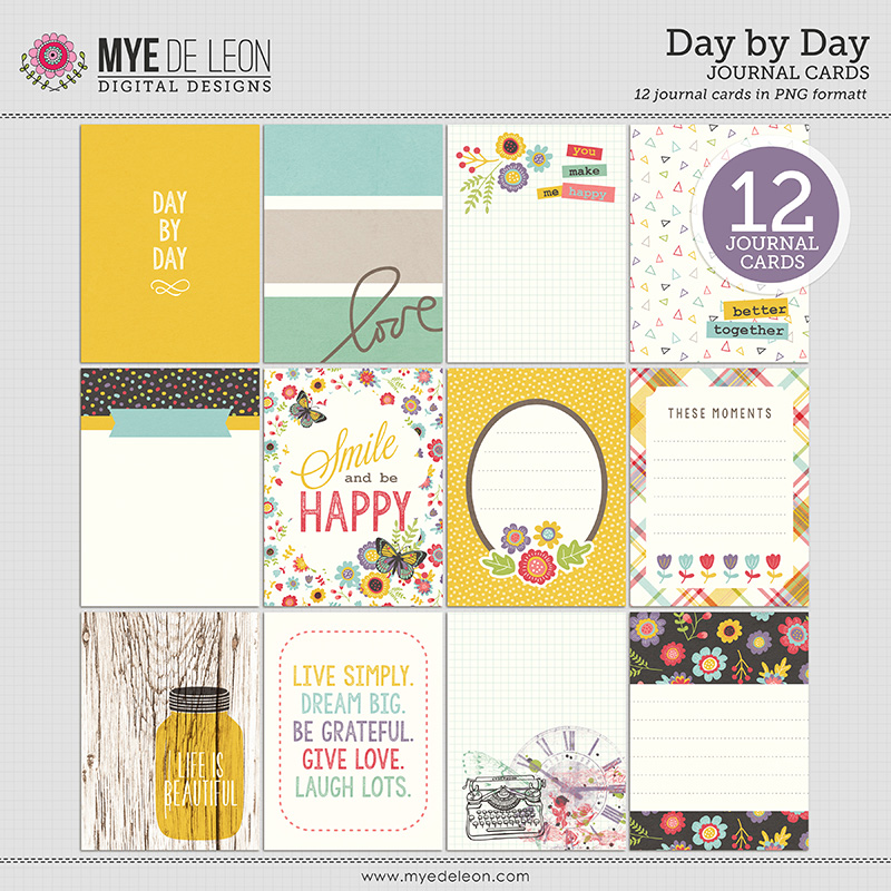 Day by Day | Journal Cards