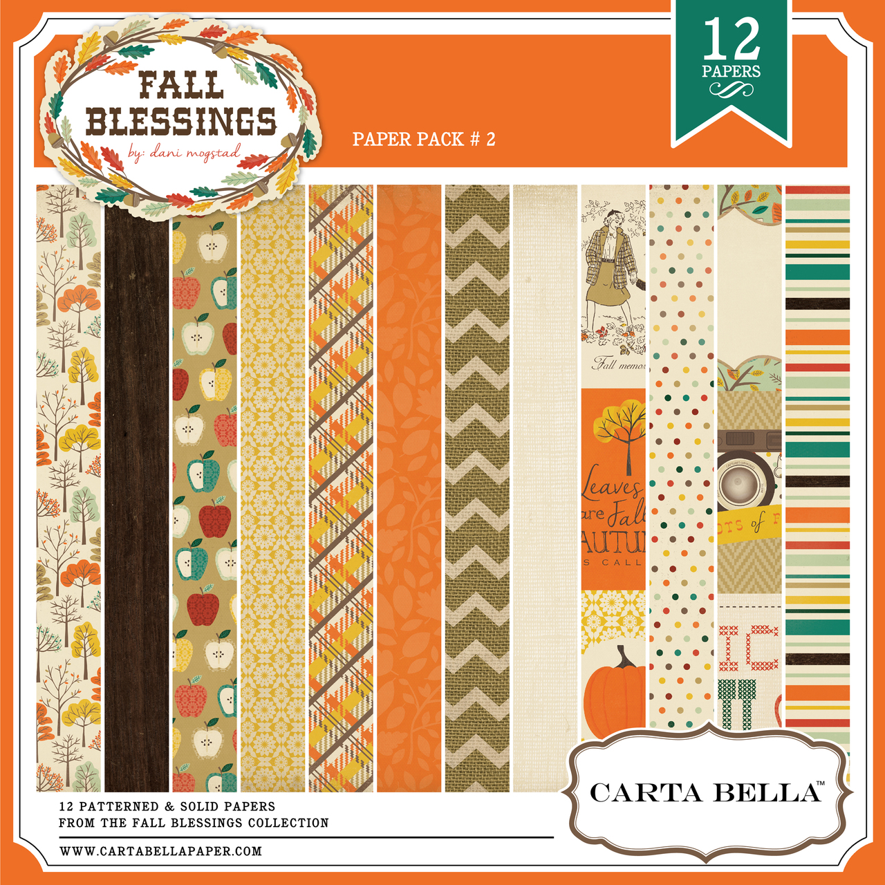Fall Blessings Paper Pack 2