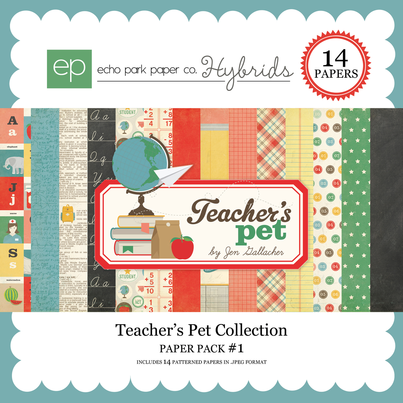 Teacher's Pet Paper Pack #1