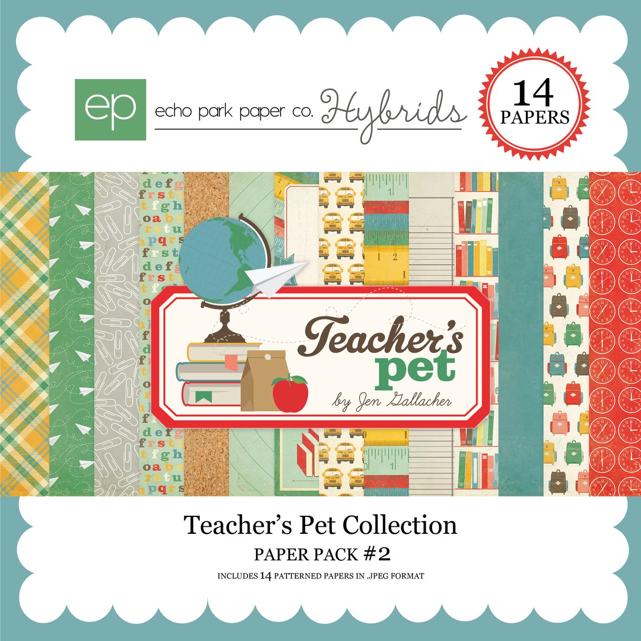 Teacher's Pet Paper Pack #2