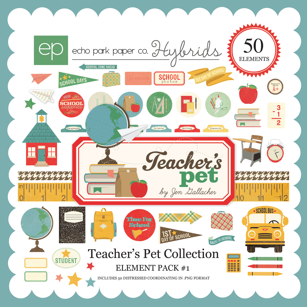 Teacher's Pet Element Pack #1