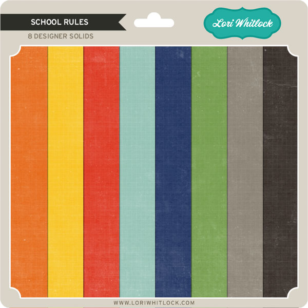 School Rules Collection