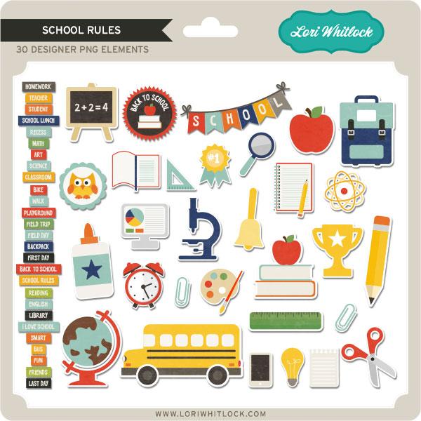 School Rules Elements