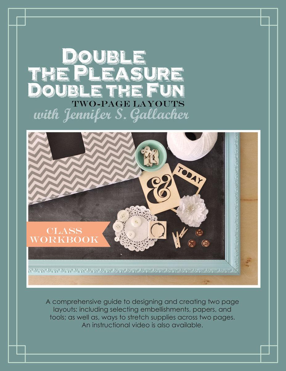 Double The Pleasure: Double-Page Scrapbooking Ebook