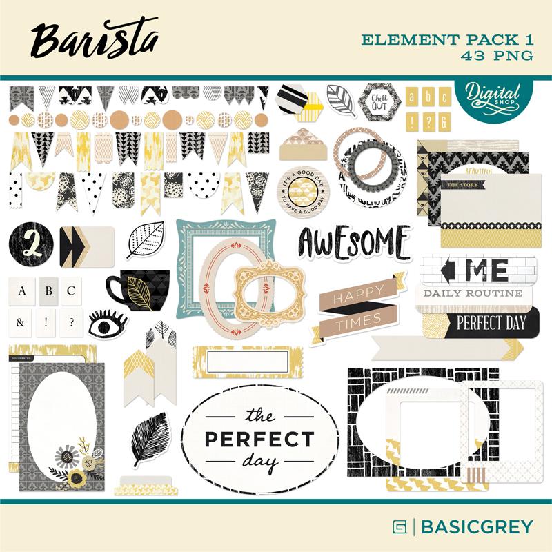 Barista Element Pack 1
