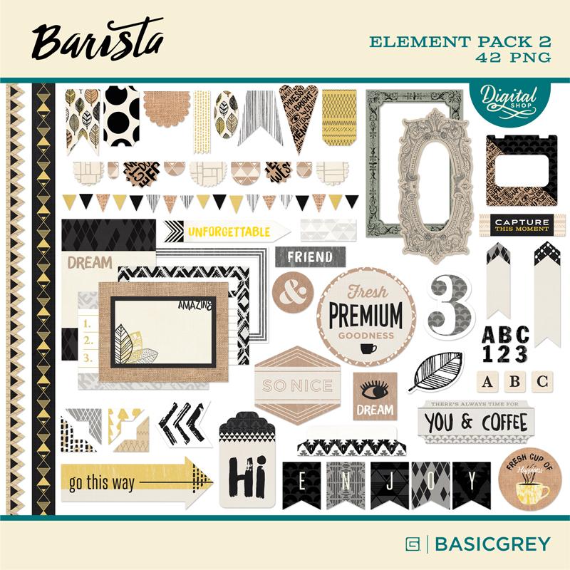 Barista Element Pack 2