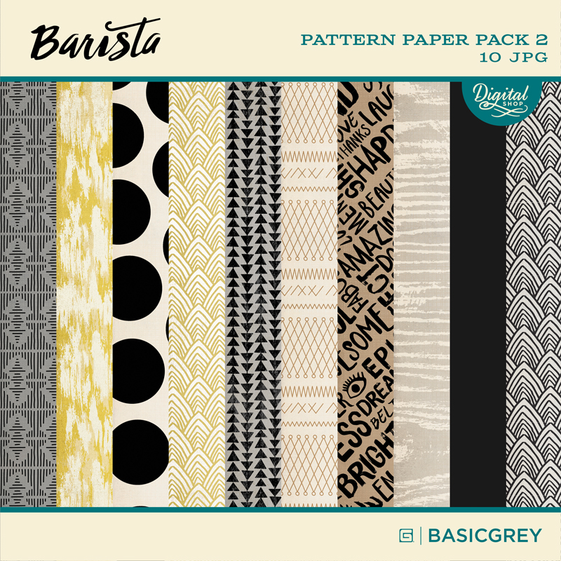 Barista Paper Pack 2