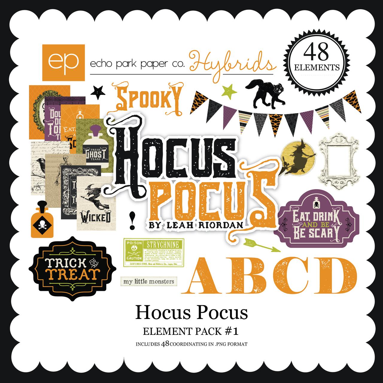 Hocus Pocus Element Pack #1