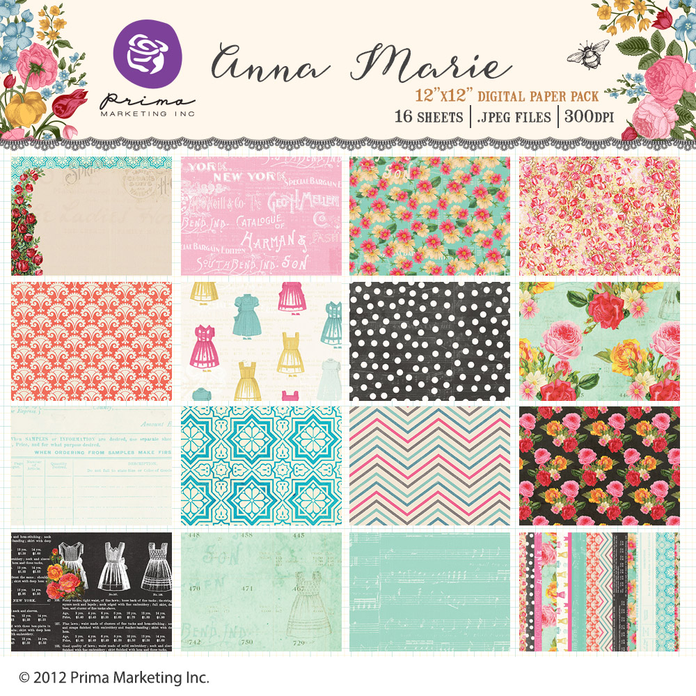 Anna Marie paper pack