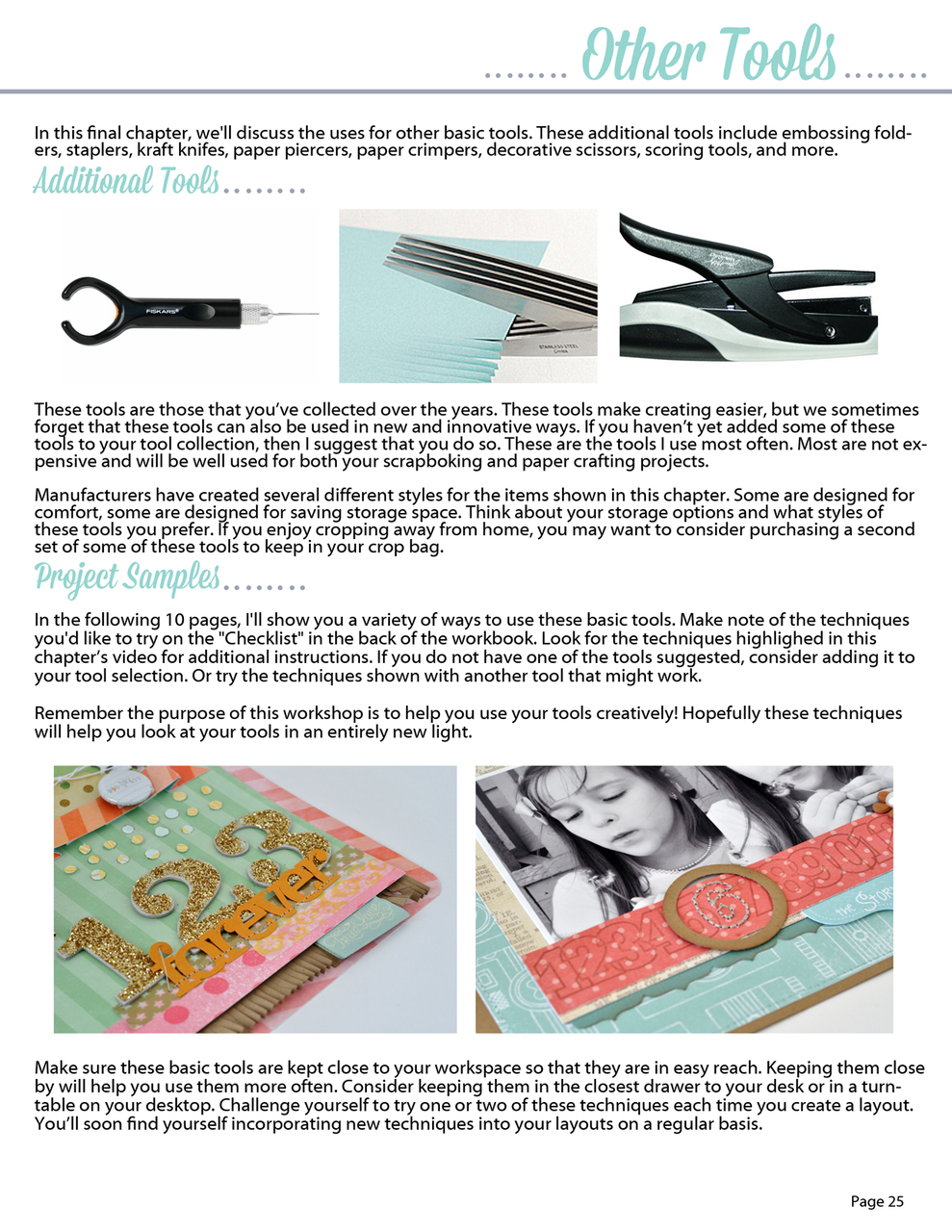 Tool School Scrapbooking Ebook