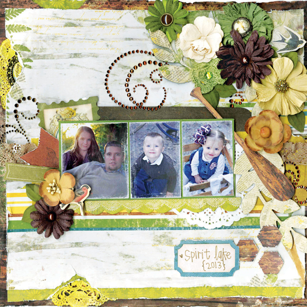 Layout by BoBunny