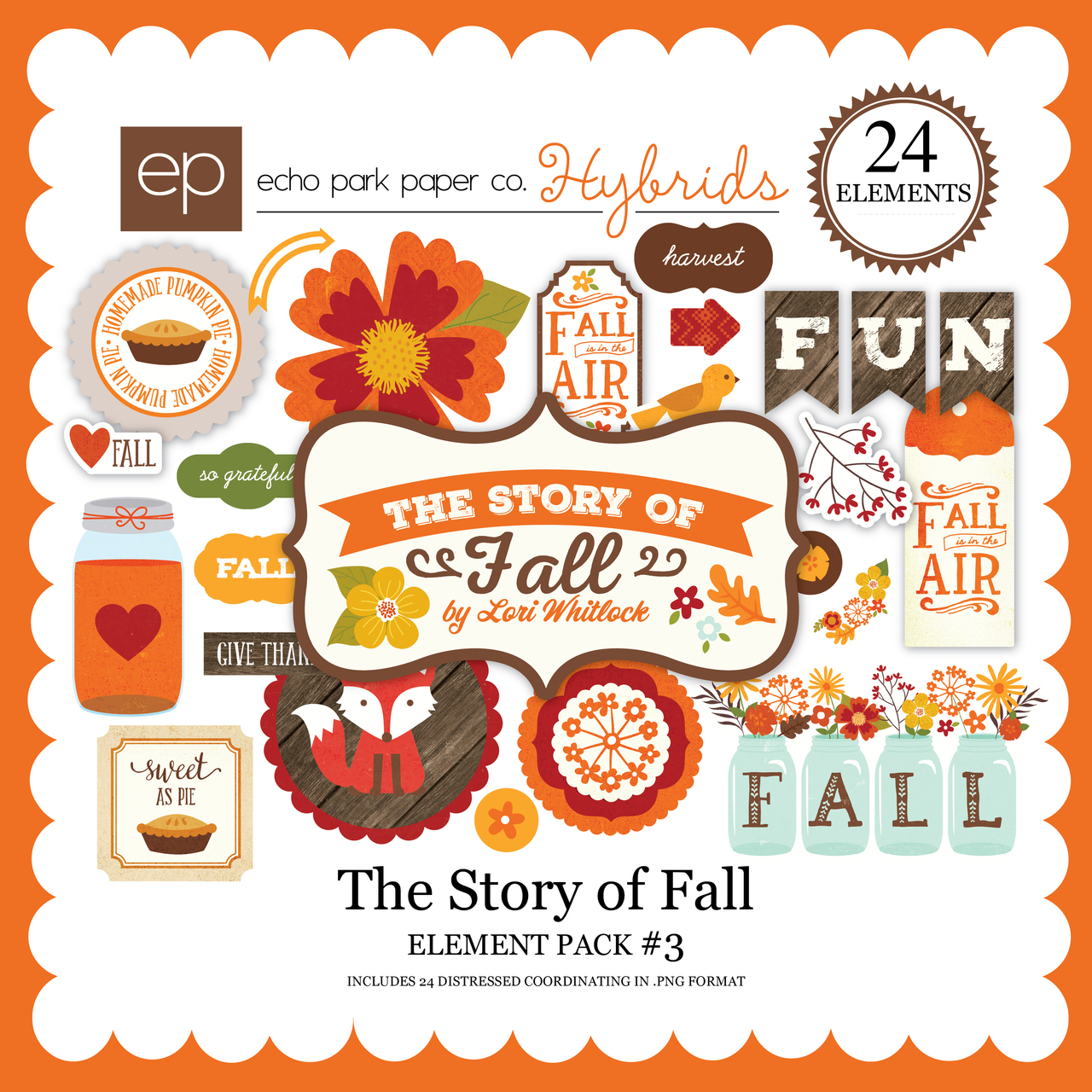 The Story of Fall Element Pack 3